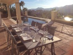 - Al Fresco dining on large terrace which has barbecue, pool and outside…