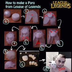 Tutorial - Poro from League of Legends by Pokeeeeee.deviantart.com on @deviantART