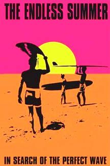 THE ENDLESS SUMMER Surfing Poster (1966 Movie Poster Art)~available at www.sportsposterwarehouse.com