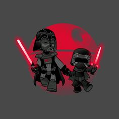 Check out this awesome 'Darth+Grandpa' design on @TeePublic!