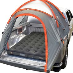 Rightline Gear Full-Size Truck Bed Air Mattress to Beds) - Camping Ideas Truck Bed Mattress, Truck Bed Tent, Truck Bed Camping, Air Mattress, Diy Camping, Camping Hacks, Camping Gear, Outdoor Camping, Camping Mattress