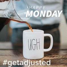 Coffee then Chiro... #GetAdjusted and ready to have an amazing week! #getchecked #chaparralchiropractic