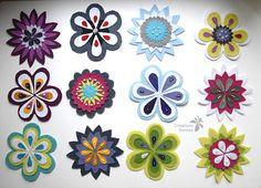 Wool's flowers