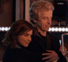 """""""""""I've missed you, Clara Oswald."""" """"Well don't worry, daft old man, I'm not going anywhere."""" #DoctorWho"""""""