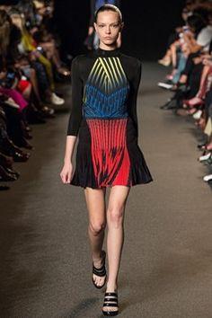 Alexander Wang womenswear, spring/summer 2015, New York Fashion Week