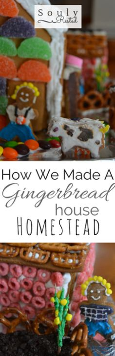For gingerbread house inspiration and how-tos, read on-->