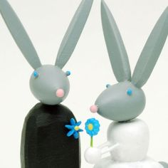 Hey, I found this really awesome Etsy listing at https://www.etsy.com/listing/41301702/bride-and-groom-bunnies-for-your-wedding