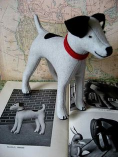 Felted dog