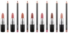 MAC Lipstick & Lip Pencil Duos for Spring 2017