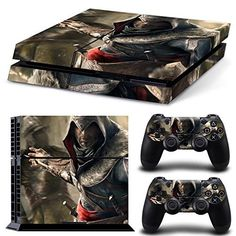FriendlyTomato PS4 Console and DualShock 4 Controller Skin Set