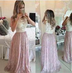 vestido renda tule bordado - festa formatura madrinha