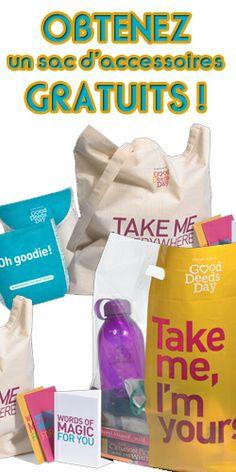Obtenez un sac d'accessoires gratuits