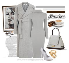 """""""Ideal Image"""" by jamilia-wallace ❤ liked on Polyvore featuring Bare Escentuals, STELLA McCARTNEY, Oasis, Casadei, Cambiaghi and Lipsy"""