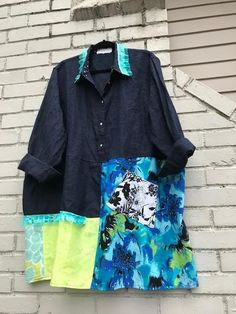 The Lily Frock: Plus size 2X-3X upcycled dress. Eco friendly