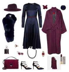 """""""exclusive style"""" by harikleiatsirka on Polyvore featuring Roksanda, Jimmy Choo, Marion Parke, Ultràchic, Lilly e Violetta, Nush, Rolex, Reiss, Serge Lutens and Coach"""