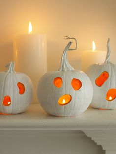 Unique painted pumpkin decorating ideas we love! #halloween #fall #diy
