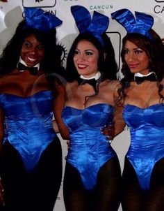 A closer look at a clutch of blue bunnies, and more specifically the Forty Deuce Girl in the middle. Wow.