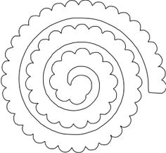 Flower Shoppe Rolled Rose 1 - paperthisandthat.svg - File Shared from Box