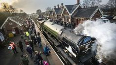The Tornado is the first mainline steam engine to be built in the UK since the 1960s.