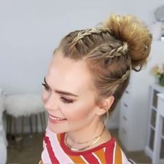 Hair hairstyle haircut hairlife hairdying hairgoals goals perfect makeup style tutorial hairtutorial lifegoals amazing 1 2 3 21 upside down dutch braids amazing long hair upside down dutch braids Hairstyles Haircuts, Braided Hairstyles, Latina Hairstyles, Interview Hairstyles, Hairstyles Videos, Blonde Hairstyles, Long Hair Video, Wedding Guest Hairstyles, Braids For Long Hair
