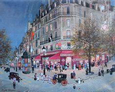 Michel Delacroix, Le Fouquets aux Champs Elysées