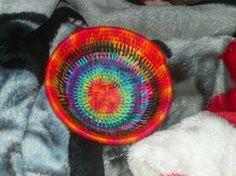 coiled yarn basket