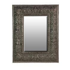 Mirror with Aged Silver Effect