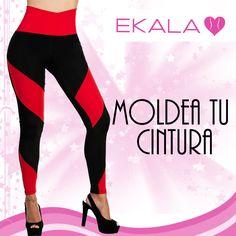 Consigue la cintura que siempre has deseado usando un #legginsmoldeador #ekala #modafemenina