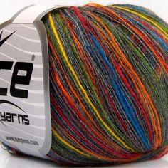 50g Wolle Stricken//Häkeln Summer Silver Grau weich 50/%Baumwolle 5/%Lurex 300m//50g