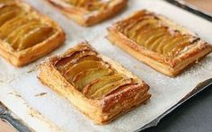 Image of french apple tart puff pastry - Dinner Recipe Apple Tart Puff Pastry, Puff Pastry Recipes, French Apple Tart, Apple Galette, French Pastries, Prime Rib, Dessert Recipes, Desserts, Apple Recipes