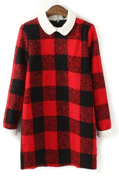 Buffalo Plaid Dress Mode Carreaux, Garde Robe, Robe En Laine, Robe À  Carreaux 6a1f4cf8fee