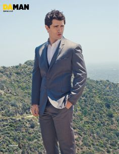 Sam Witwer   Da Man fashion feature
