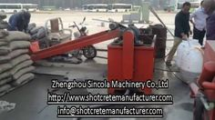 Cement foaming pumping machine ; for further details contact sales3@shotcretemanufacturer.com whatsapp: +8615617597332, skype: sincolasale