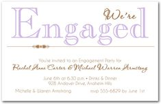 Engagement invitation wording places to visit pinterest engagement invitation wording stopboris Images