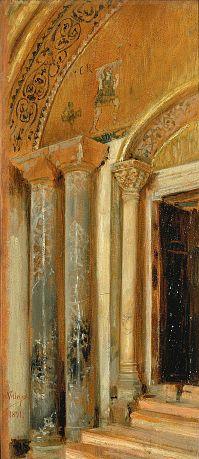Doorway (San Marco, Venice) by Jose Villegas Y Cordero