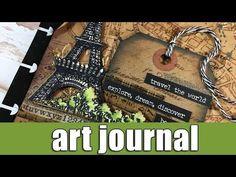 Art Journal | travel the world - YouTube