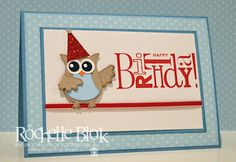 Owl Punch happiest birthday wishes