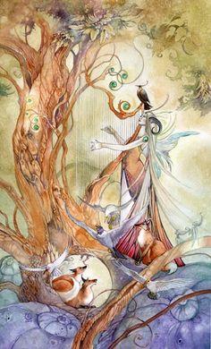 Queen of Wands.