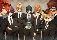 ST★RISH - Men in Black version