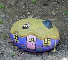 Rock Gnome House (Painted by Allison Myers)