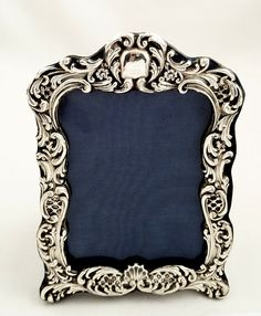 144 Best Antique Silver Picture Frames Images Silver Frames