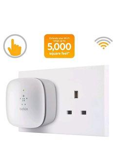 Universal WiFi Range Internet Network Extender Repeater Wireless Signal Booster | eBay