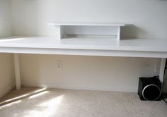 diy desk!! want to make this asap