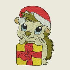 Christmas time hedgehog 10 | Spookies Treasures