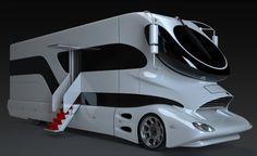 豪華キャンピングカー