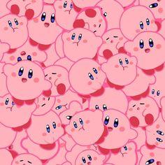 pink, kirby, and kawaii Bild Wallpaper Pc, Kawaii Wallpaper, Wallpaper Backgrounds, Pink Kirby Wallpaper, Nintendo Characters, Video Game Characters, Pokemon Rose, Pokémon Kawaii, Kirby Nintendo