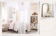 Rooms | Restoration Hardware Baby & Child How could you not feel like a princess in this room?