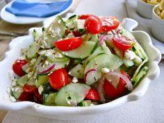leichte gerichte gemüse salat