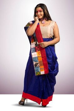 Ramp Club presents Womanhood with #Style.  Style: Ready to Wear Sari - Dress House: Etnico - Dhaka, Bangladesh Fabric: Linen / Reshom Size: Free Color: Blue / Vibrant Pink / Black / Feroza / Red / Yellow / Green Price: Rs.3000 to 4000 only Purchase Mode: Book through FB Inbox / WhatsApp / Ramp Club Store for more Designs.