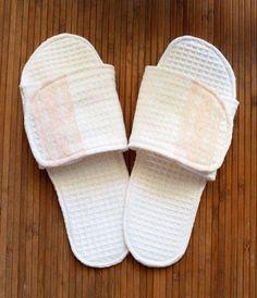 Spa Slippers Tutorial